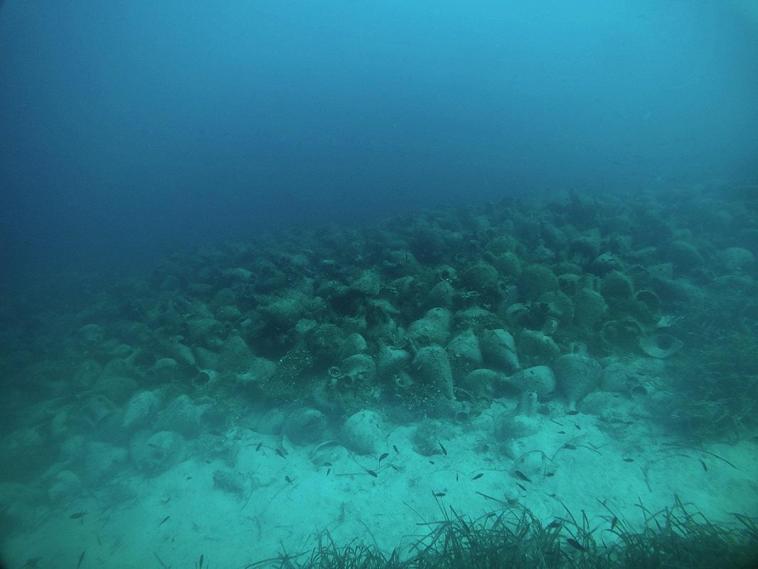 Περιστέρα - αρχαίο ναυάγιο